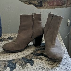 Old navy suede booties